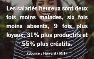 Benefice salaries heureux
